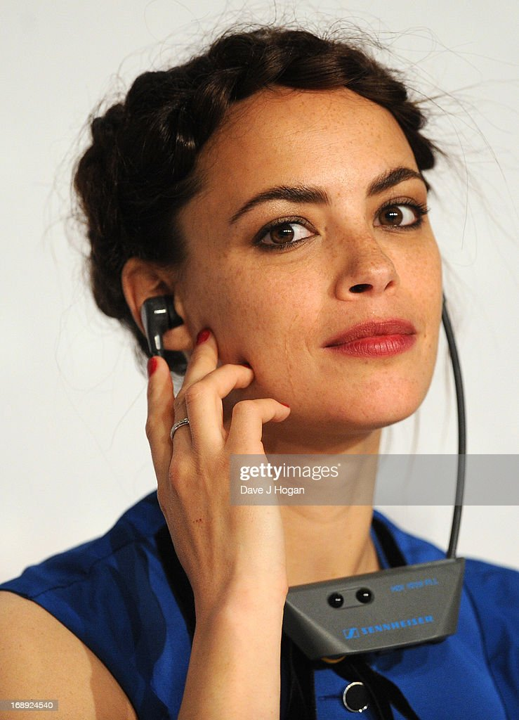 Actress Berenice Bejo attends 'Le Passe' Press Conference during the 66th Annual Cannes Film Festival at the Palais des Festivals on May 17, 2013 in Cannes, France.