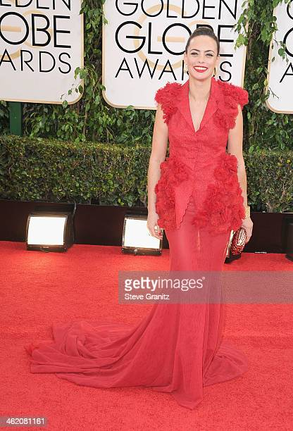 Actress Berenice Bejo attends the 71st Annual Golden Globe Awards held at The Beverly Hilton Hotel on January 12 2014 in Beverly Hills California