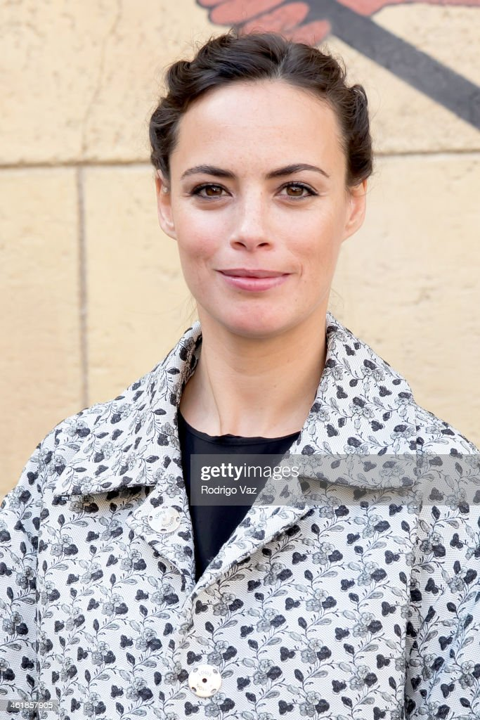 Actress Berenice Bejo attends the Golden Globe Foreign-Language Nominees panel discussion and screening series photo op at American Cinematheque's Egyptian Theatre on January 11, 2014 in Hollywood, California.