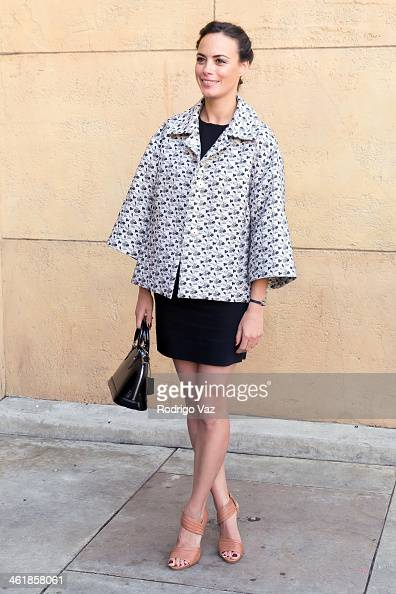 Actress Berenice Bejo attends the Golden Globe ForeignLanguage Nominees panel discussion and screening series photo op at American Cinematheque's...