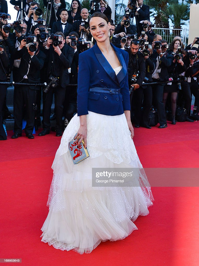 Actress Berenice Bejo attends the Premiere of 'Le Passe' (The Past) at The 66th Annual Cannes Film Festival on May 17, 2013 in Cannes, France.