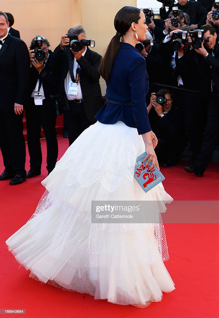 Actress Berenice Bejo attends the Premiere of 'Le Passe' (The Past) during The 66th Annual Cannes Film Festival at Palais des Festivals on May 17, 2013 in Cannes, France.