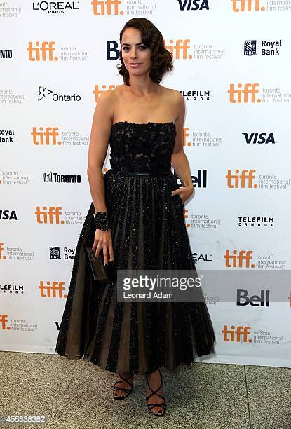 Actress Berenice Bejo attends 'The Search' premiere during the 2014 Toronto International Film Festival at The Elgin on September 12 2014 in Toronto...