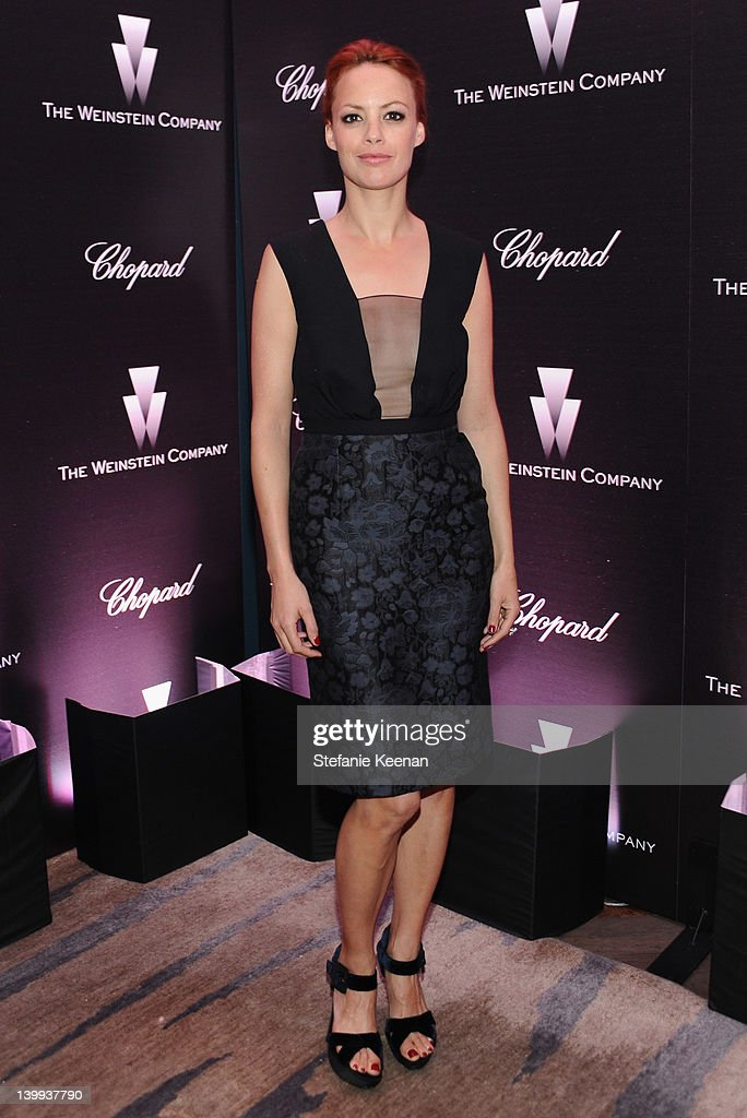 Actress Berenice Bejo attends the Weinstein Company celebrates the 2012 Academy Awards presented by Chopard at Soho House on February 25, 2012 in West Hollywood, California.