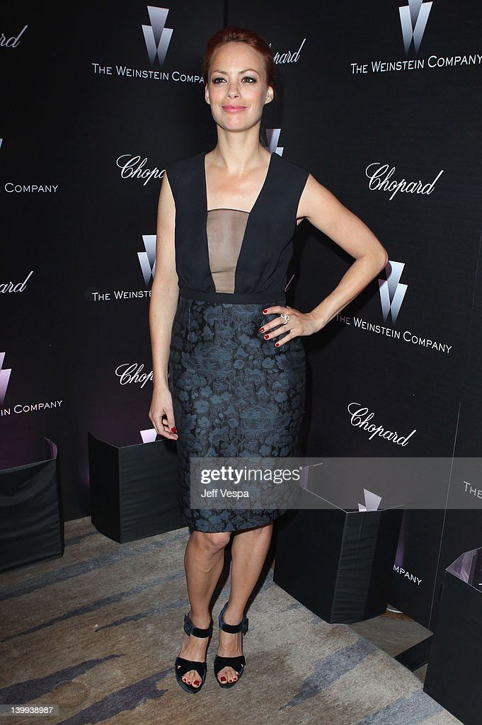 Actress Berenice Bejo attends The Weinstein Company Celebrates The 2012 Academy Awards Presented By Chopard held at Soho House on February 25, 2012 in West Hollywood, California.