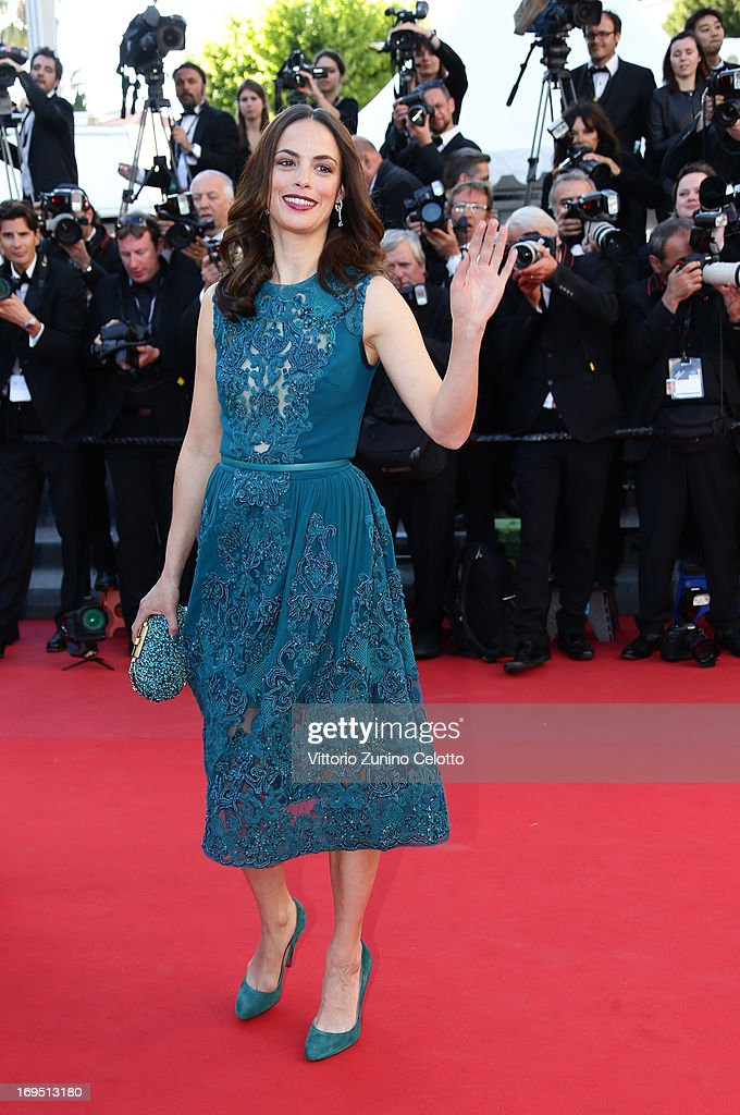 Actress Berenice Bejo attends the 'Zulu' Premiere and Closing Ceremony during the 66th Annual Cannes Film Festival at the Palais des Festivals on May 26, 2013 in Cannes, France.