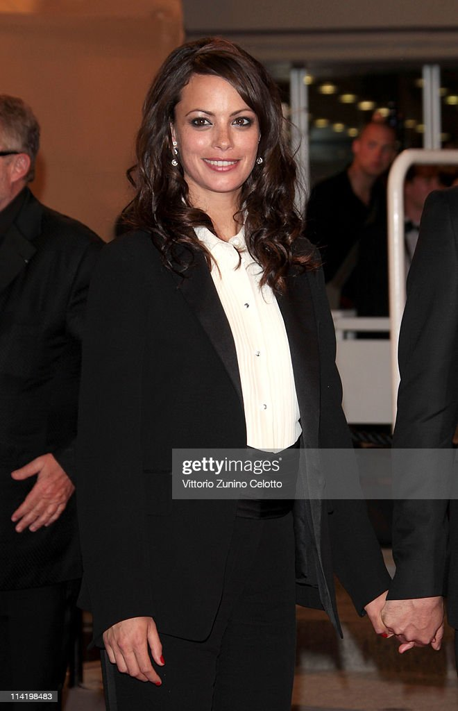 Actress Berenice Bejo departs 'The Artist' premiere at the Palais des Festivals during the 64th Annual Cannes Film Festival on May 15, 2011 in Cannes, France.