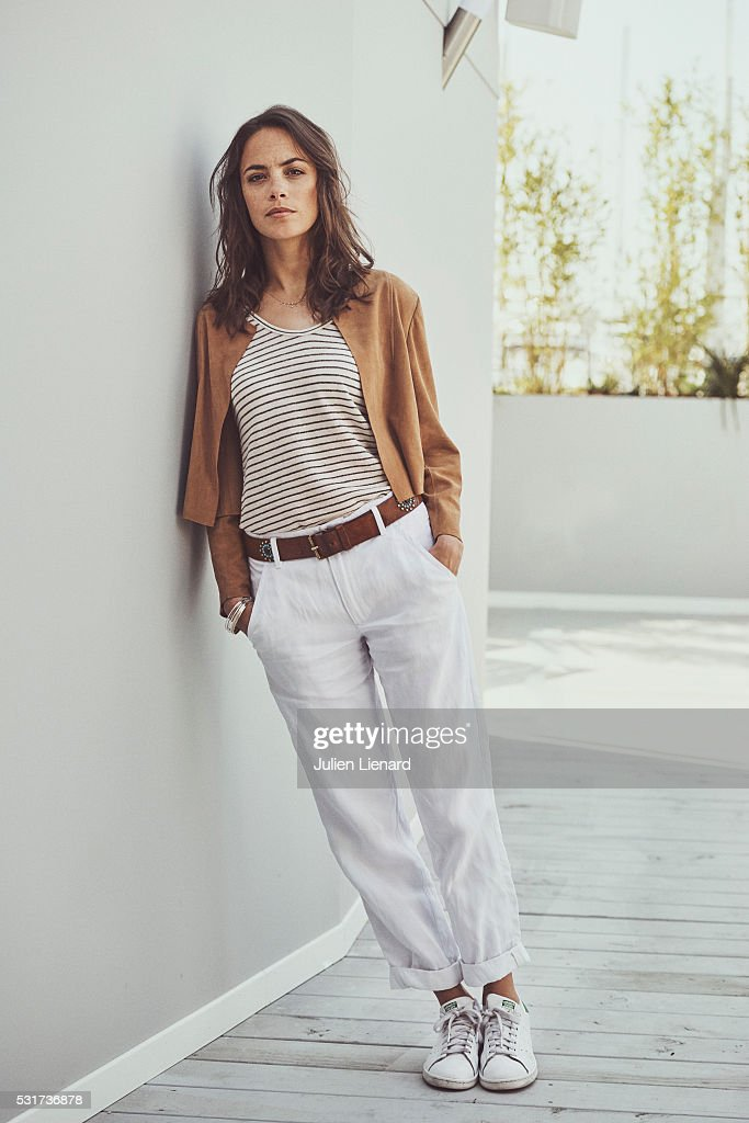 Actress Berenice Bejo is photographed for Self Assignment on May 14, 2016 in Cannes, France.