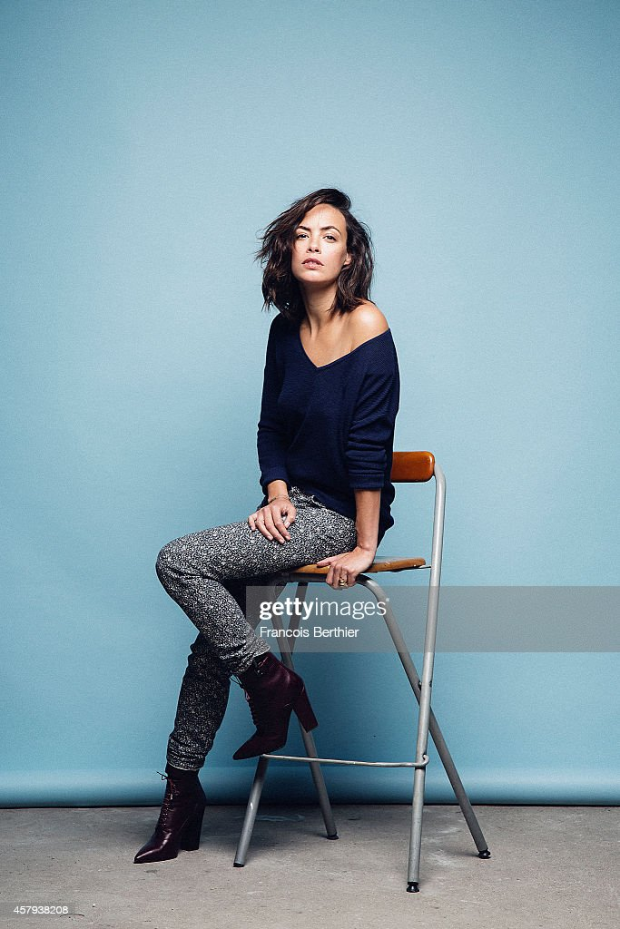 Actress Berenice Bejo is photographed for Self Assignment on October 14, 2014 in Paris, France.