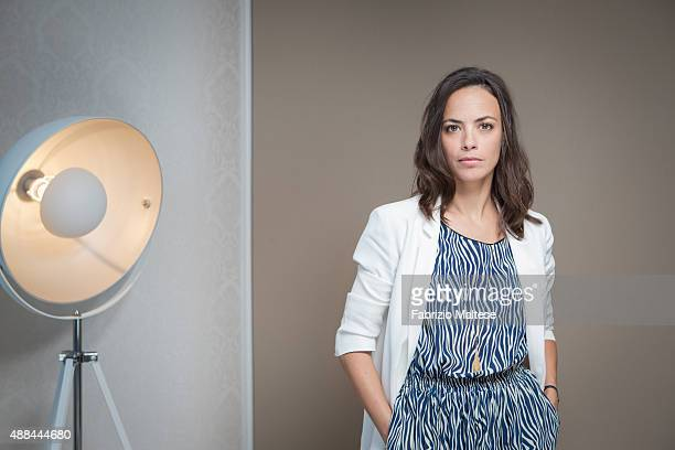 Actress Berenice Bejo is photographed for The Hollywood Reporter on September 5 2015 in Venice Italy **NO SALES IN USA TILL DECEMBER 16 2015**
