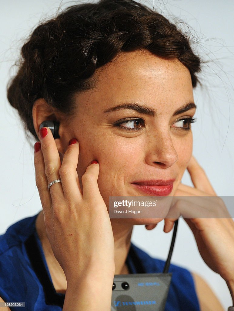 Actress Berenice Bejo speaks at the 'Le Passe' Press Conference during the 66th Annual Cannes Film Festival on May 17, 2013 in Cannes, France.