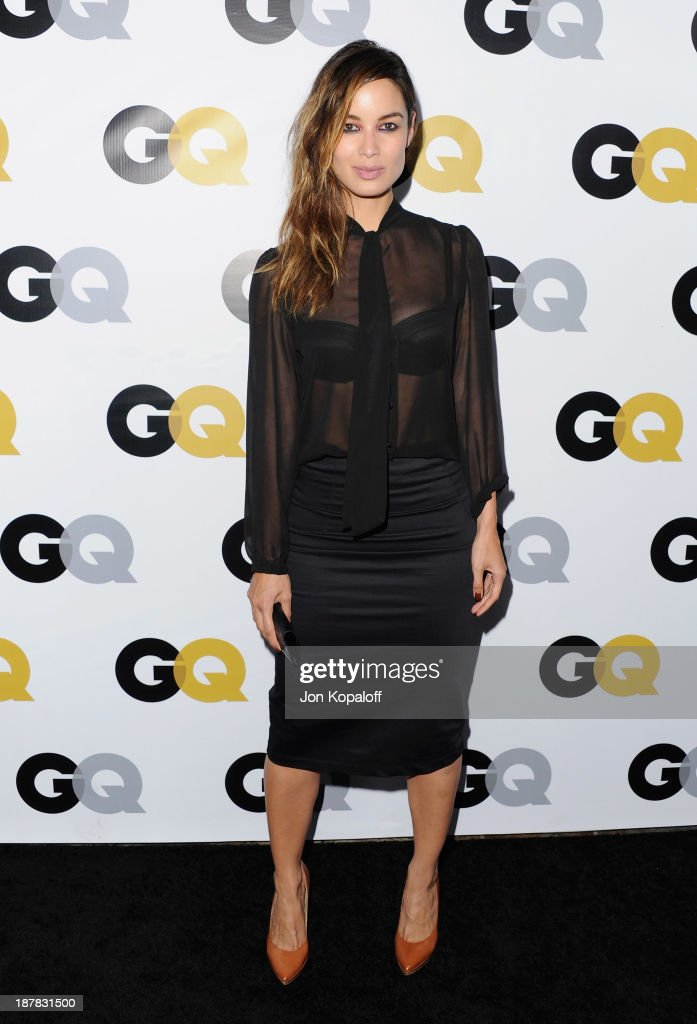 Actress Berenice Marlohe arrives at GQ Celebrates The 2013 'Men Of The Year' at The Wilshire Ebell Theatre on November 12 2013 in Los Angeles...