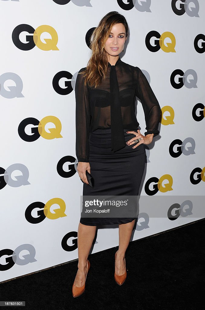 Actress Berenice Marlohe arrives at GQ Celebrates The 2013 'Men Of The Year' at The Wilshire Ebell Theatre on November 12, 2013 in Los Angeles, California.
