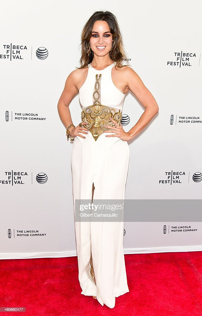 Actress Berenice Marlohe attends '5 to 7' premiere during the 2014 Tribeca Film Festival at SVA Theater on April 19 2014 in New York City