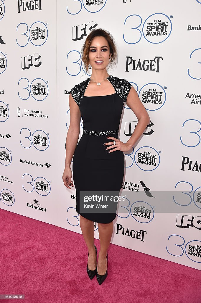 Actress Berenice Marlohe attends the 2015 Film Independent Spirit Awards at Santa Monica Beach on February 21 2015 in Santa Monica California