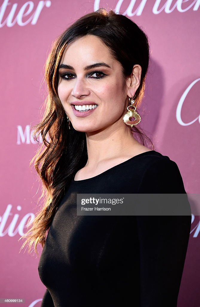 Actress Berenice Marlohe attends the 26th Annual Palm Springs International Film Festival Awards Gala at Parker Palm Springs on January 3 2015 in...