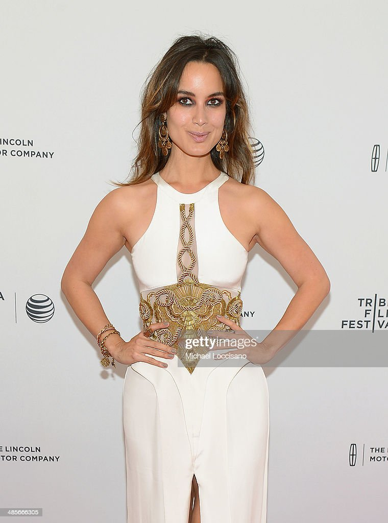Actress Berenice Marlohe attends the '5 To 7' Premiere during the 2014 Tribeca Film Festival at the SVA Theater on April 19 2014 in New York City