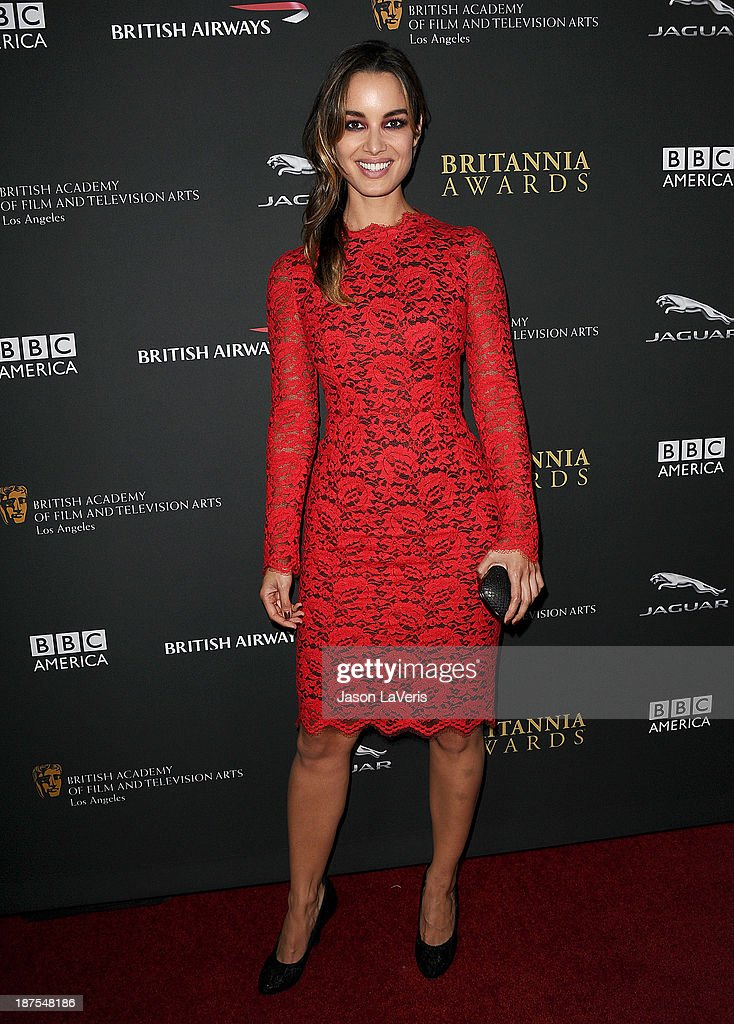 Actress Berenice Marlohe attends the BAFTA Los Angeles Britannia Awards at The Beverly Hilton Hotel on November 9, 2013 in Beverly Hills, California.