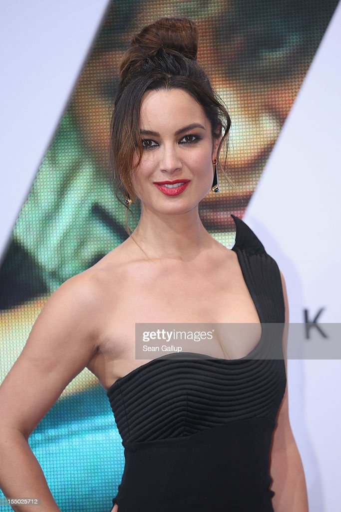 Actress Berenice Marlohe attends the Germany premiere of 'Skyfall' at the Theater am Potsdamer Platz on October 30 2012 in Berlin Germany