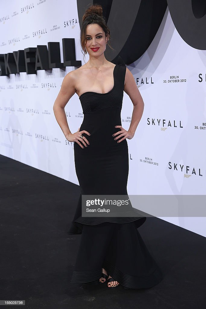 Actress Berenice Marlohe attends the Germany premiere of 'Skyfall' at the Theater am Potsdamer Platz on October 30, 2012 in Berlin, Germany.