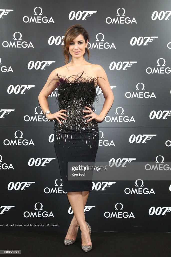 Actress Berenice Marlohe attends the Omega x Hankyu Men's Tokyo x Bond Girl Berenice Marlohe at Hankyu Men's Tokyo on November 19, 2012 in Tokyo, Japan.