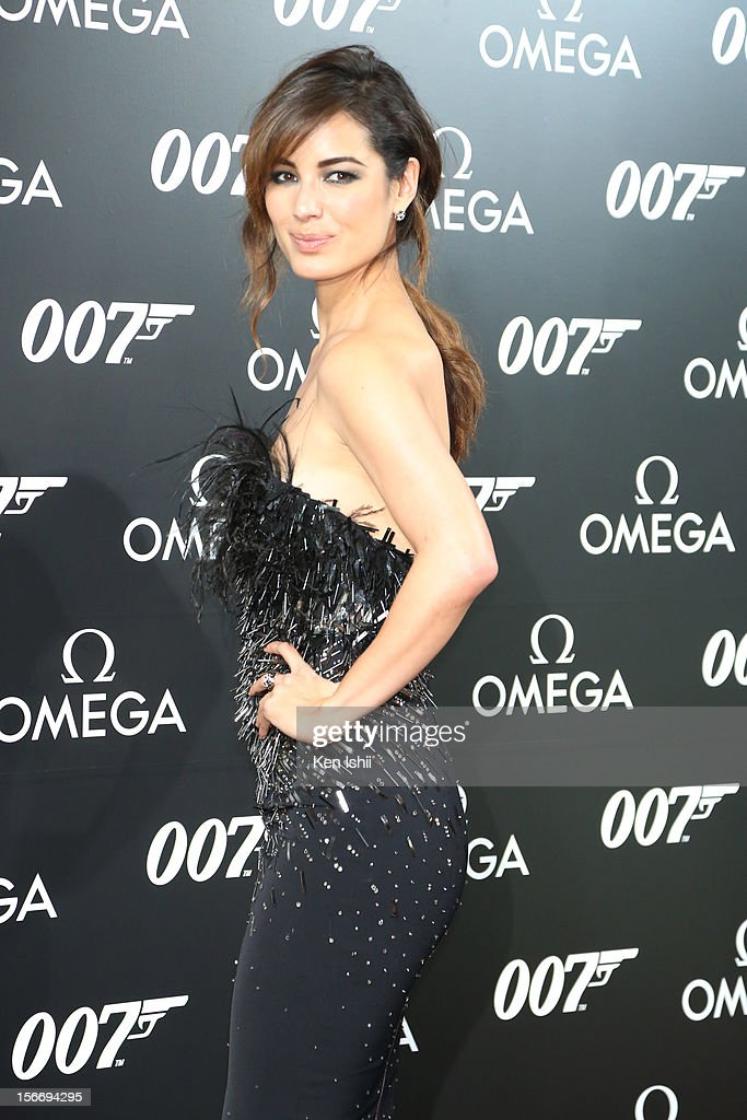 Actress <a gi-track='captionPersonalityLinkClicked' href=/galleries/search?phrase=Berenice+Marlohe&family=editorial&specificpeople=6966628 ng-click='$event.stopPropagation()'>Berenice Marlohe</a> attends the Omega x Hankyu Men's Tokyo x Bond Girl <a gi-track='captionPersonalityLinkClicked' href=/galleries/search?phrase=Berenice+Marlohe&family=editorial&specificpeople=6966628 ng-click='$event.stopPropagation()'>Berenice Marlohe</a> at Hankyu Men's Tokyo on November 19, 2012 in Tokyo, Japan.