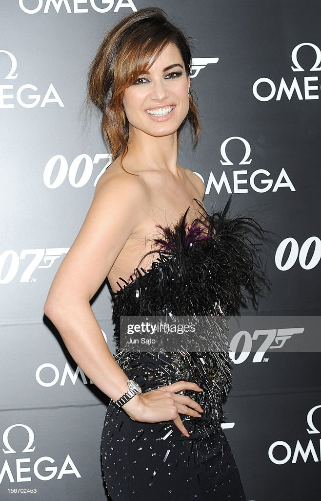 Actress Berenice Marlohe attends the 'Skyfall' Japan Premiere at Toho Cinemas Nichigeki on November 19, 2012 in Tokyo, Japan. The film will open on December 1 in Japan.