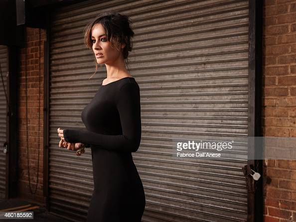 Actress Berenice Marlohe is photographed for Vanity Fair Italy on April 23 2014 in New York City