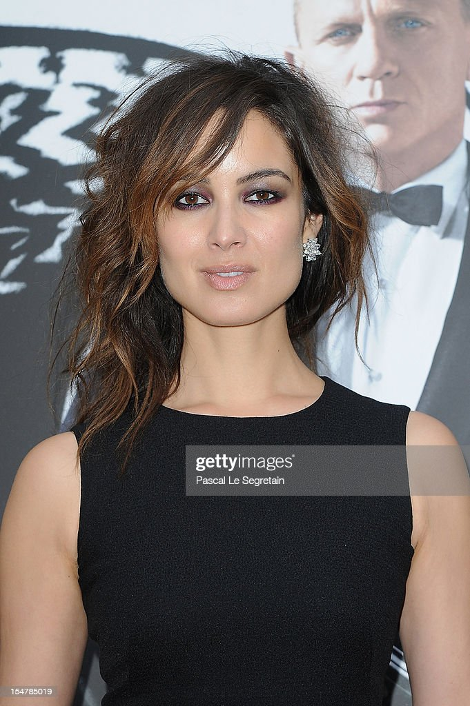 Actress Berenice Marlohe poses during a photocall for the film 'Skyfall' at Hotel George V on October 25, 2012 in Paris, France.