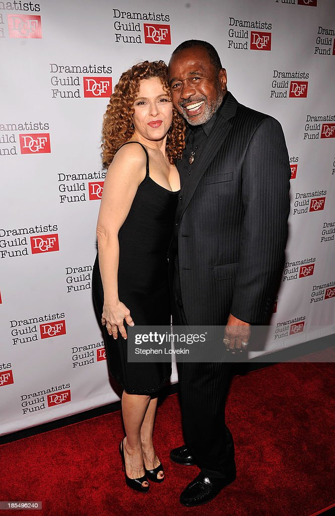 Actress Bernadette Peters and actor Ben Vereen attend the Great Writers Thank Their Lucky Stars annual gala hosted by The Dramatists Guild Fund on October 21, 2013 in New York City.