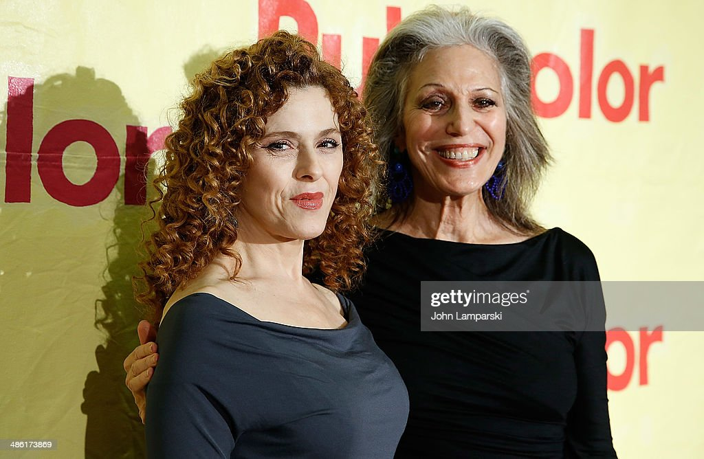 Actress <a gi-track='captionPersonalityLinkClicked' href=/galleries/search?phrase=Bernadette+Peters&family=editorial&specificpeople=203332 ng-click='$event.stopPropagation()'>Bernadette Peters</a> and Ruth Shuman attend Stir, Splatter + Roll 14 at Martin Luther King High School on April 22, 2014 in New York City.