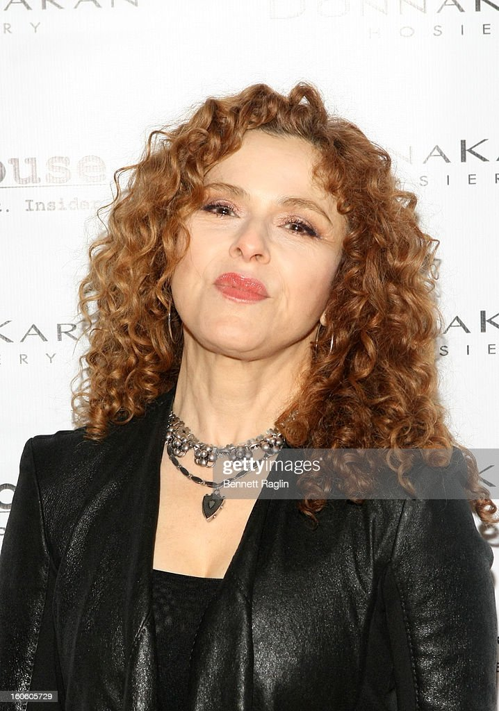 Actress Bernadette Peters attend 'Haven't We Met Before?' New York Premiere at 711 Greenwich Street on February 3, 2013 in New York City.
