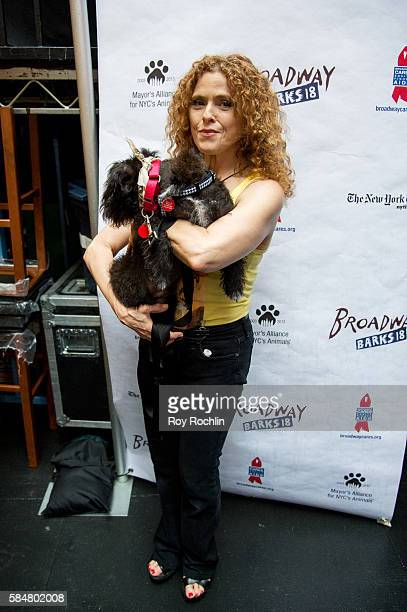 Actress Bernadette Peters attends 18th Annual Broadway Barks at Shubert Alley on July 30 2016 in New York City