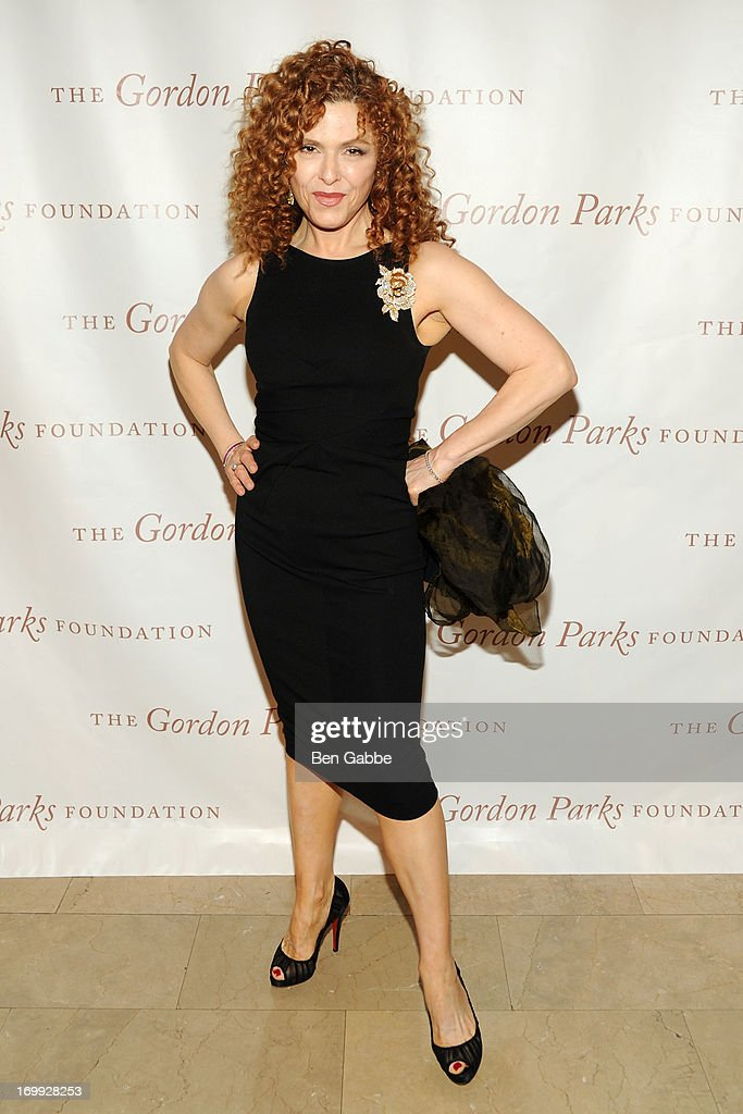 Actress <a gi-track='captionPersonalityLinkClicked' href=/galleries/search?phrase=Bernadette+Peters&family=editorial&specificpeople=203332 ng-click='$event.stopPropagation()'>Bernadette Peters</a> attends 2013 Gordon Parks Foundation Awards at The Plaza Hotel on June 4, 2013 in New York City.