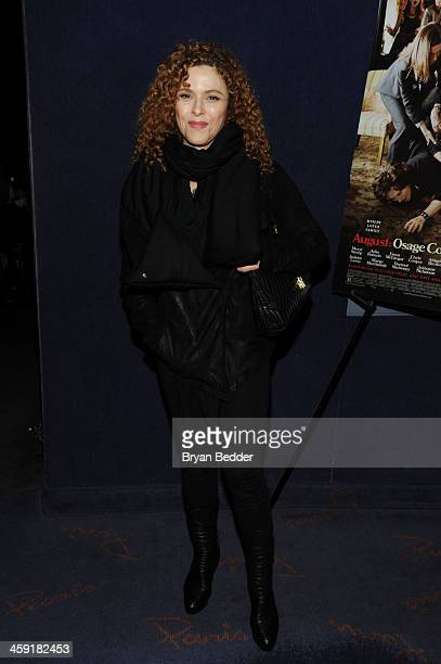 Actress Bernadette Peters attends a special screening of The Weinstein Company's AUGUST OSAGE COUNTY at Paris Theatre on December 23 2013 in New York...
