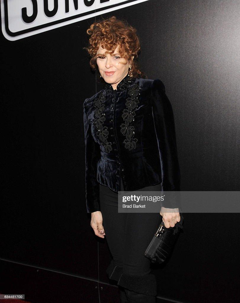 Actress Bernadette Peters attends Andrew Lloyd Webber's SUNSET BOULEVARD Opens On Broadway Starring Glenn Close on February 9, 2017 in New York City.