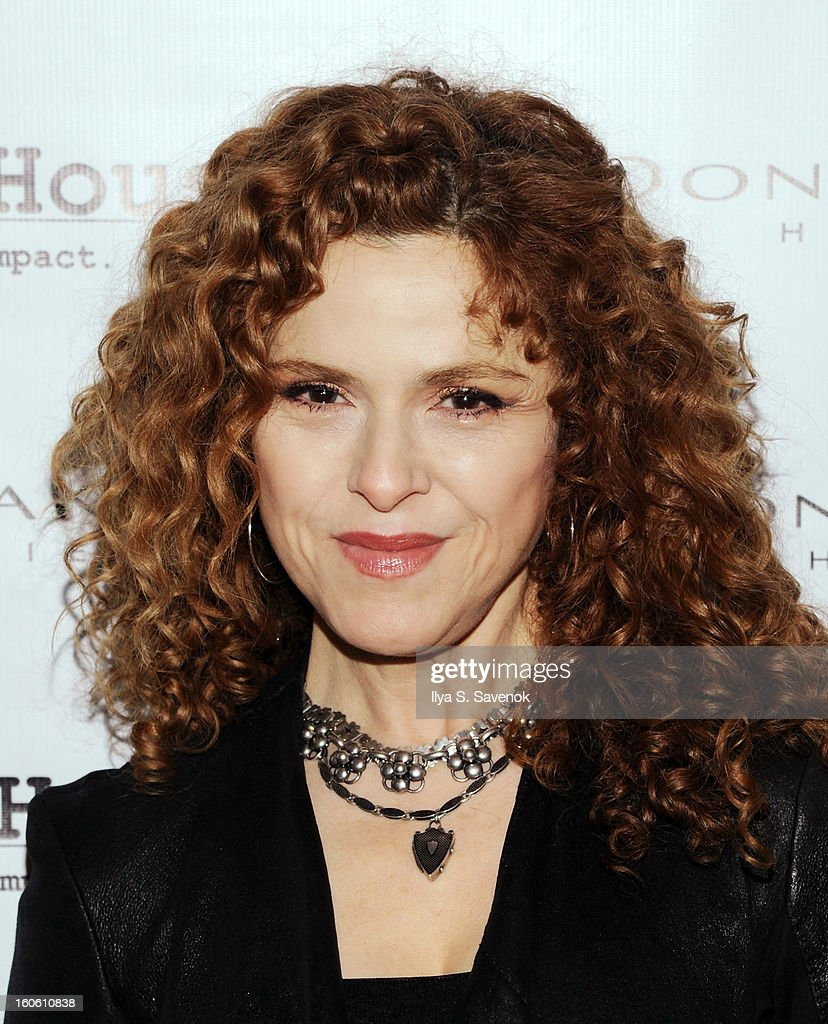 Actress Bernadette Peters attends 'Haven't We Met Before?' New York Premiere at 711 Greenwich Street on February 3, 2013 in New York City.