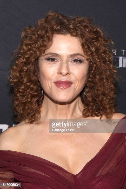 Actress Bernadette Peters attends 'Sweeney Todd The Demon Barber Of Fleet Street' Opening Night party at City Bakery on March 1 2017 in New York City