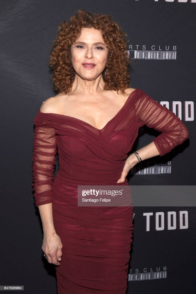 Actress Bernadette Peters attends 'Sweeney Todd The Demon Barber Of Fleet Street' Opening Night party at City Bakery on March 1, 2017 in New York City.
