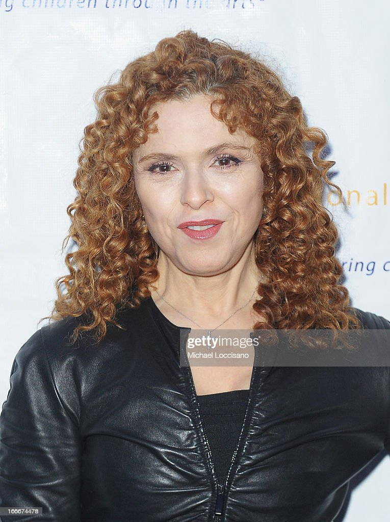 Actress Bernadette Peters attends the 2013 National Dance Institute Gala's 'Big Easy Celebration' at Best Buy Theatre on April 15, 2013 in New York City.