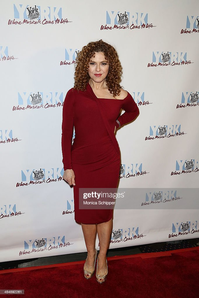 Actress Bernadette Peters attends the 22nd annual Oscar Hammerstein Award gala at The Hudson Theatre on December 9, 2013 in New York City.