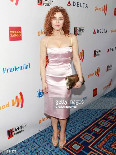 Actress Bernadette Peters attends the 23rd Annual GLAAD Media Awards at the Marriott Marquis Hotel on March 24 2012 in New York City