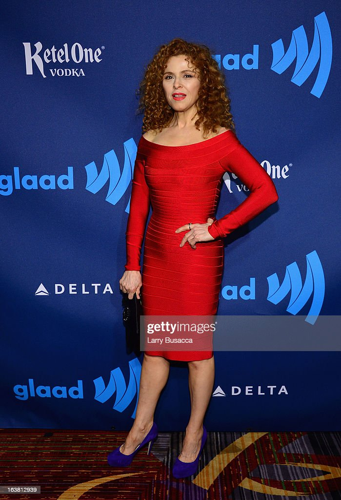 Actress Bernadette Peters attends the 24th Annual GLAAD Media Awards on March 16, 2013 in New York City.