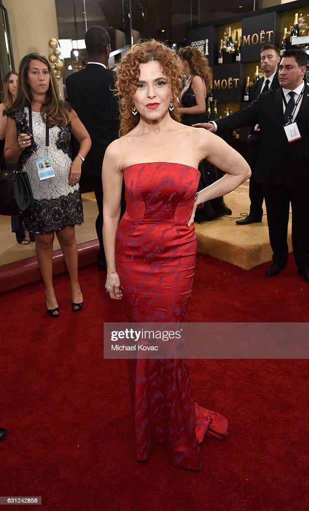 Actress Bernadette Peters attends the 74th Annual Golden Globe Awards at The Beverly Hilton Hotel on January 8, 2017 in Beverly Hills, California.
