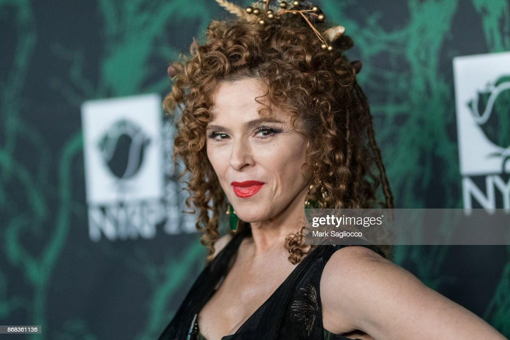 Actress Bernadette Peters attends the Bette Midler's 2017 Hulaween Event Benefiting The New York Restoration Project at Cathedral of St. John the Divine on October 30, 2017 in New York City.