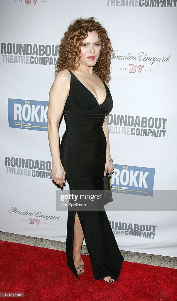 Actress <a gi-track='captionPersonalityLinkClicked' href=/galleries/search?phrase=Bernadette+Peters&family=editorial&specificpeople=203332 ng-click='$event.stopPropagation()'>Bernadette Peters</a> attends The Roundabout Theatre 2012 Spring Gala 'From Screen to Stage' dinner and auction at the Hammerstein Ballroom on March 12, 2012 in New York City.
