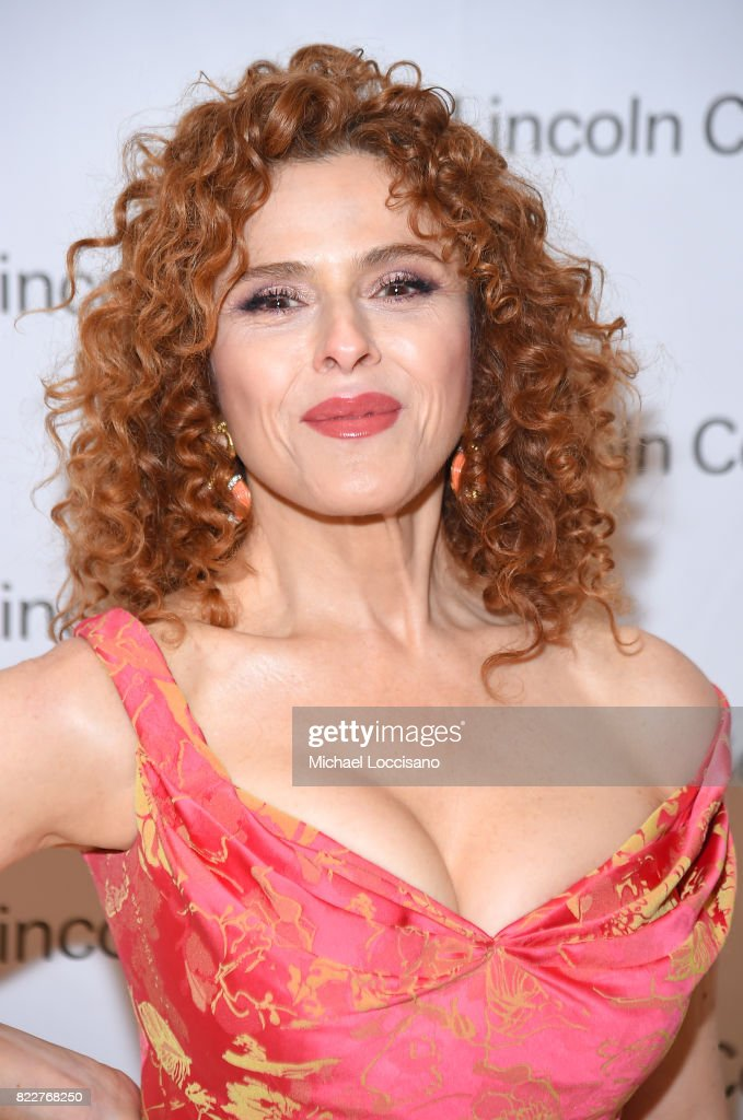 Actress Bernadette Peters of 'Mozart in the Jungle' attends Lincoln Center's Mostly Mozart Opening Night Gala at David Geffen Hall on July 25, 2017 in New York City.