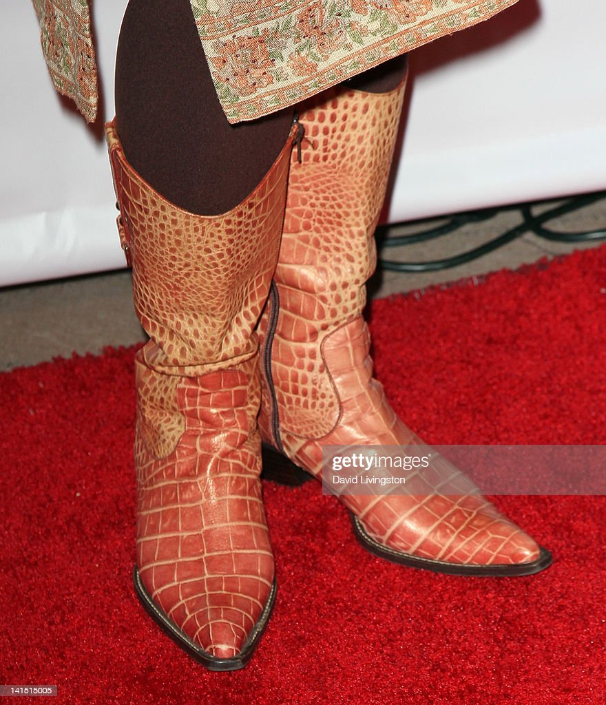 Actress Bernadette Speakes (shoe detail) attends the 3rd annual Unstoppable Gala at the Millennium Biltmore Hotel on March 17, 2012 in Los Angeles, California.