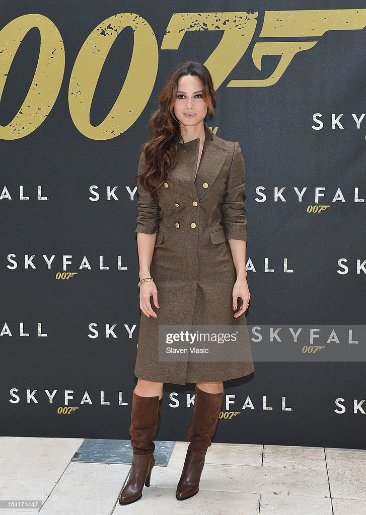 Actress Bernice Marlohe attends 'Skyfall' Cast Photo Call at Crosby Street Hotel on October 15, 2012 in New York City.