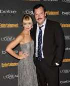 Actress Beth Behrs and actor Michael Gladis attend the Entertainment Weekly preEmmy party at Fig Olive Melrose Place on September 20 2013 in West...